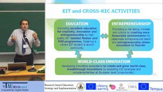 EIT's Higher Education approach for entrepreneurship and innovation