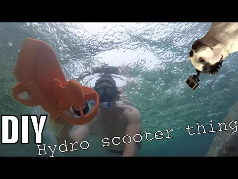 DIY Hydro Scooter Pistol