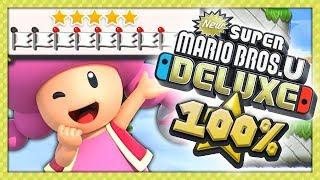 NEW SUPER MARIO BROS U DELUXE #17 - NIVEAU FINAL ! JEU FINI À 100% !