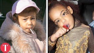 Video Kim Kardashian's Daughter VS Beyonce's Daughter MP3, 3GP, MP4, WEBM, AVI, FLV Maret 2019