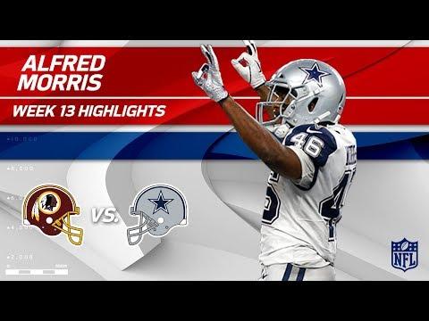 Video: Alfred Morris Racks Up 127 Yards & 1 TD vs. Former Team | Redskins vs. Cowboys | Wk 13 Player HLs