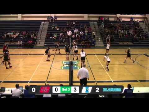 Islanders Volleyball sweeps Nicholls