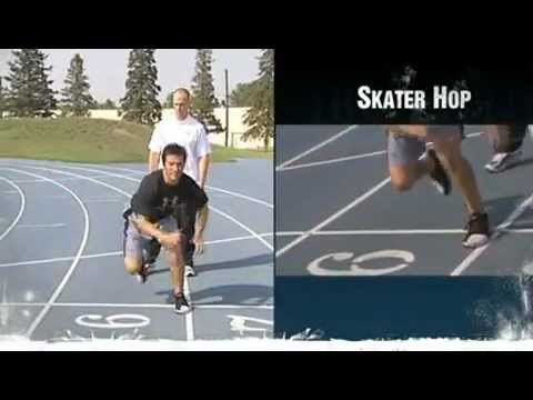 Dryland Off-Ice Hockey Training for Leg Strength-Skater Hop