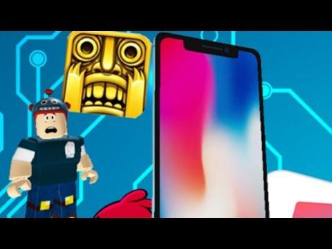 아이폰X 10에서 탈출해요!! [로블록스 점프맵](Roblox ESCAPE THE IPHONE X) - 동동