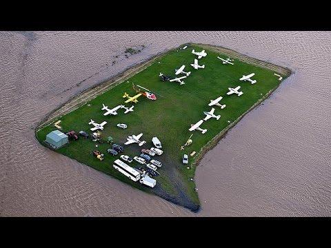 Καταστροφικές πλημμύρες στη Ν. Ζηλανδία