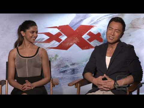 Donnie Yen and Deepika Padukone interview for XXX Return of Xander Cage