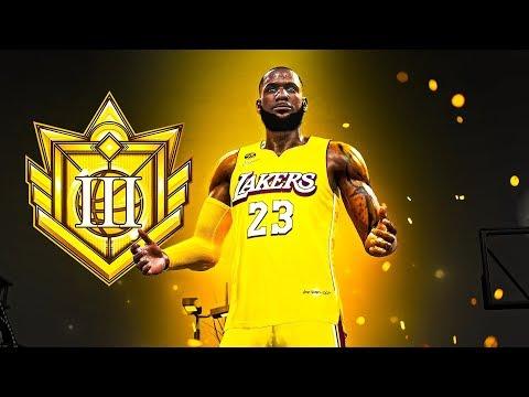 I HIT ELITE 3 on my LEBRON JAMES BUILD in NBA 2K20 - MASCOTS, FIREWORKS, LEGEND SOON!
