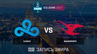 Cloud9 vs Mousesports  - ESL One Cologne 2017 - de_inferno [Enkanis , yXo]