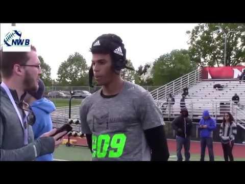Daniel Arias  '18 WR Jackson HS (Mill Creek, WA) - Jr Yr #NWBMix