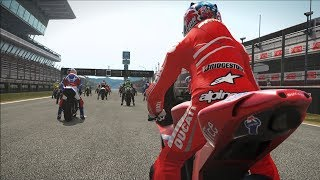 1. MotoGP 17 - Ducati Desmosedici 2007 - Test Ride Gameplay (PC HD) [1080p60FPS]
