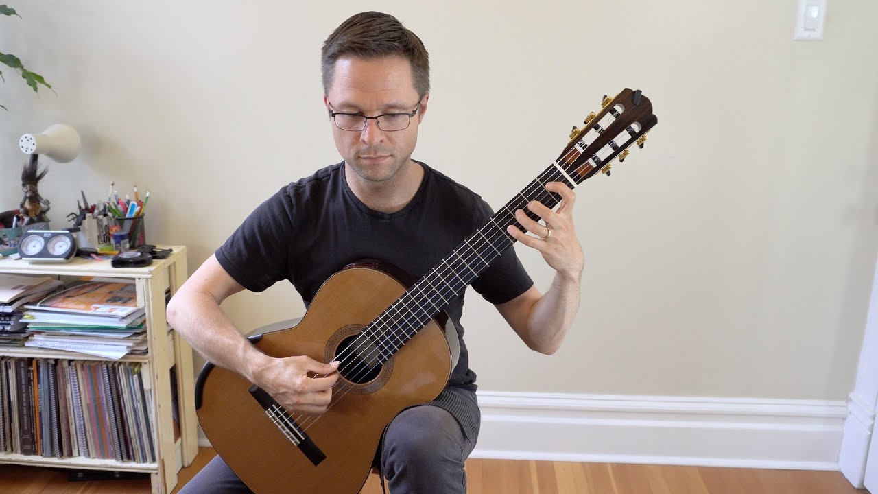 Classical Guitar Scales Lesson: The Five Major Scale Patterns over the Entire Guitar Fretboard
