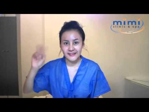 Mặt Bà Tưng nham nhở sau khi phẫu thuật