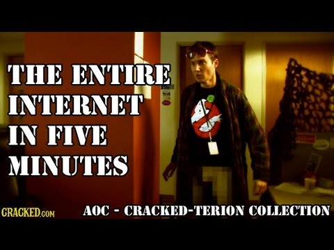 The Entire Internet In Five Minutes | Agents of Cracked | Episode 5