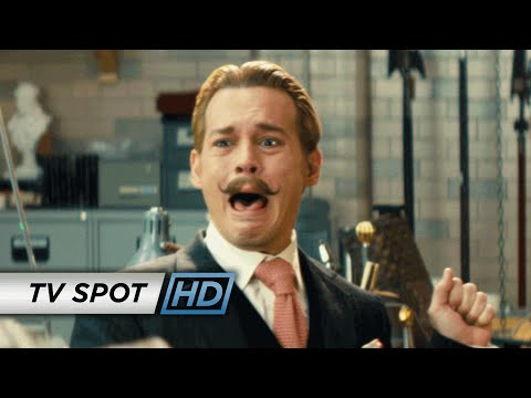 Mortdecai TV Spot 'Courageous'