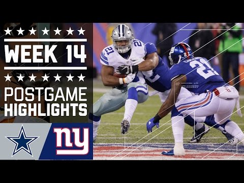 Cowboys vs. Giants | NFL Week 14 Game Highlights