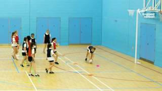 Teaching KS3 Netball - 11. Centre Pass Defence