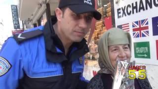 SAMSUN POLİSİ KADINLARI UNUTMADI