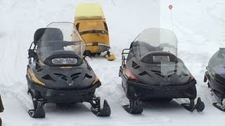 9. 97 vs 07 Ski Doo Skandic WT Comparison