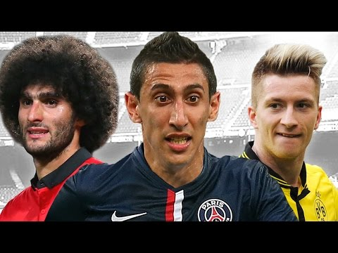 angel - Get all the latest in today's episode of Transfer Talk! Angel Di Maria is on his way to PSG - or is he? Plus, news on Marco Reus, Marouane Fellaini, Morgan Schneiderlin, Paul Pogba and more....