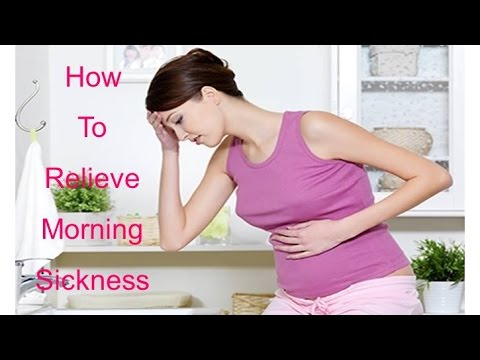 how to get rid nausea during pregnancy