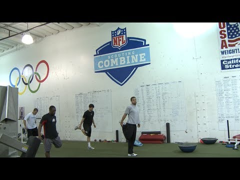 NFL Combine - A quick peek at the California Strength 2013 NFL Combine Training class, which features: Stanford TE Zach Ertz Oregon LB Kiko Alonso Utah CB Ryan Lacy USC S ...