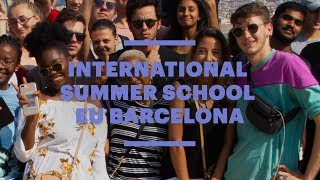 The annual International Summer School held at the EU Barcelona campus combines various courses in business basics with ...