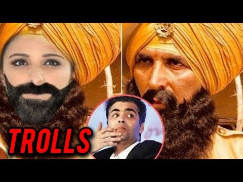 Karan Johar TROLLED on Twitter for Akshay Kumar Ke