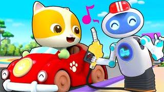 El Gasolinero Robot | Canciones Infantiles | BabyBus Español