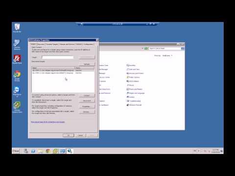 How to add iSCSI storage to Windows Server, using a iSCSI initiator