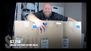 I bought a $2,210 Amazon Customer Returns ELECTRONICS & HG Pallet / Mystery Boxes