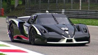 Ferrari FXX Evolution PURE SOUND! - YouTube