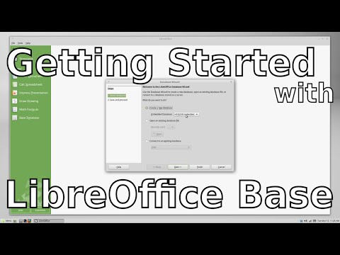 Getting Started with LibreOffice Base