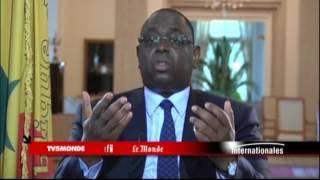 """Macky Sall sur TV5MONDE : Agrandir l'OIF """"le plus largement possible"""""""