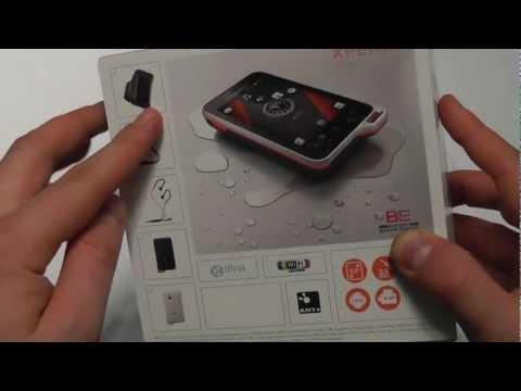 Sony Ericsson Xperia Active Unboxing