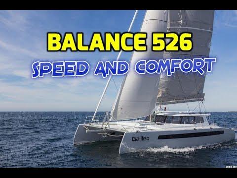Balance 526 Catamaran. Guided tour by designer.  Perfect Balance of performance and cruising comfort_A héten feltöltött legjobb vitorlázás videók