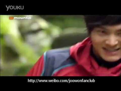 Joo Won (주원) 30 secs version of Mountia CF/part 2 (видео)
