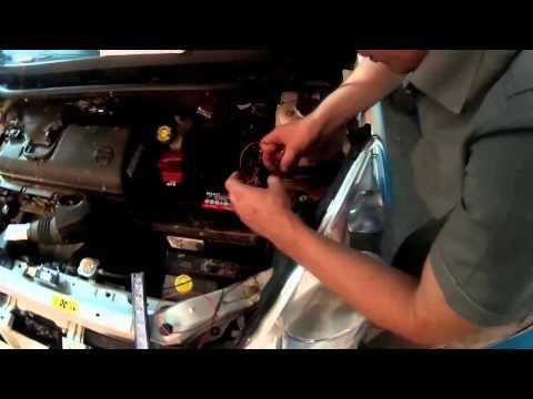 Схема подкл дхо от генератора через габариты схема ваз 2114 снимок