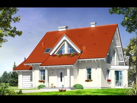 Projekt domu Orlik http://www.mgprojekt.com.pl/orlik