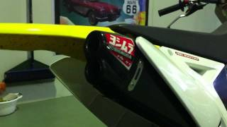 9. Suzuki RMZ450 with Yoshimura RS-4D + Exhaust Sound