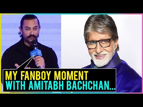 Aamir Khan REVEALS His Fanboy Moment With Amitabh