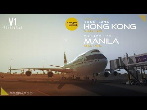 Status profundos - P3DV4  B744  Hong Kong  Manila