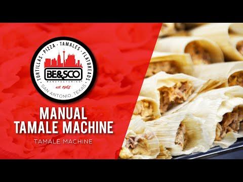 TAMALE MACHINE - BE&SCO Manual Tamale Maker