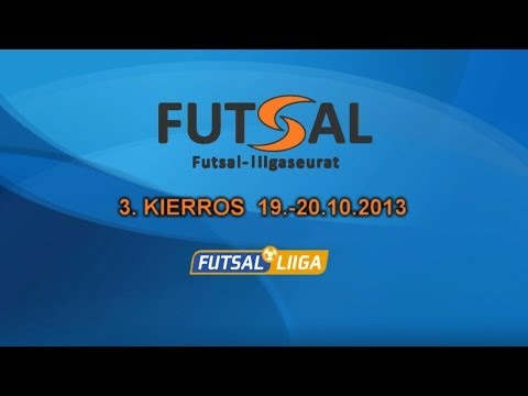 Futsal-Liigan kierroskooste 3. kierros 19.-20.10.2013 (видео)