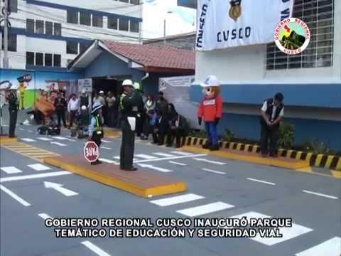 GOBIERNO REGIONAL CUSCO INAUGUR� PARQUE TEM�TICO DE EDUCACI�N Y SEGURIDAD VIAL