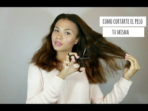 Como cortar TU MISMA tu cabello en casa. Rápido y fácil!