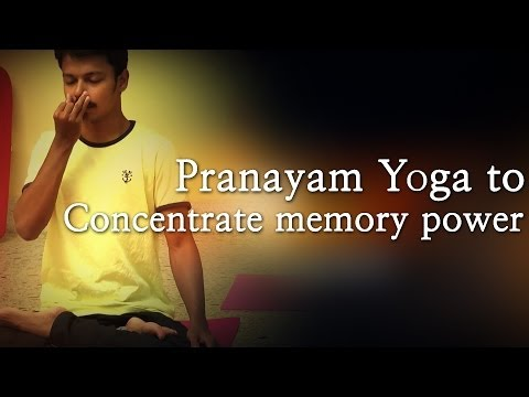 Pranayam Yoga to Concentrate memory power – Red Pix 24×7