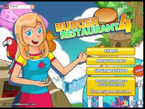 Cooking Games For Girl | Burger Restaurant 4