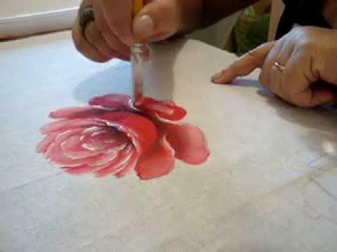 Eliane Nascimento: Minhas dicas de pintura - Rosas