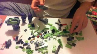 Lego NinjaGo 2012 Fangpyre Mech 9455 Time Lapse Building