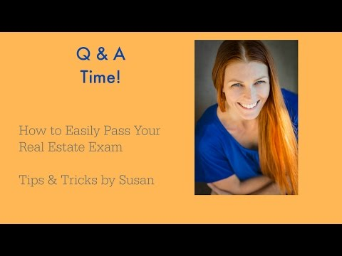 how to pass nj real estate exam